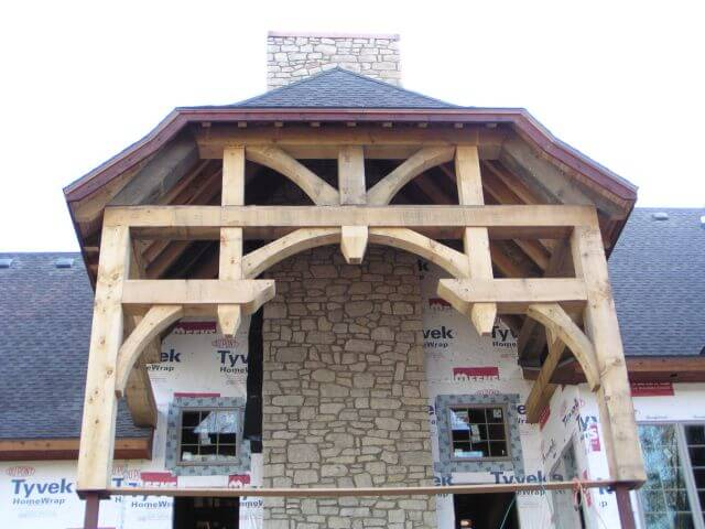 The building process for Process of building a house